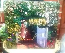 Vintage Tin Box Cookie Storage Container Famous Paintings