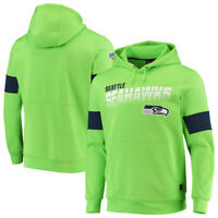 Seattle Seahawks Hoodies Sweatshirts 100th Anniversary Pullover Jacket Coat