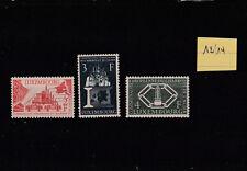 LUXEMBOURG  EUROPA  CECA  N° 511/513
