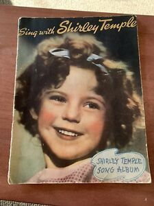 Shirley Temple 8 Song SHEET MUSIC Book NICE!
