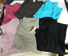 NEW SHARP TALBOTS PLUS SIZE WOMANS PETITE KNIT COTTON TEE SHIRTS TOPS 3/4 SLEEVE