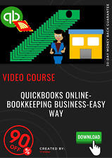 QuickBooks Online-Bookkeeping Business-Easy Way video training course