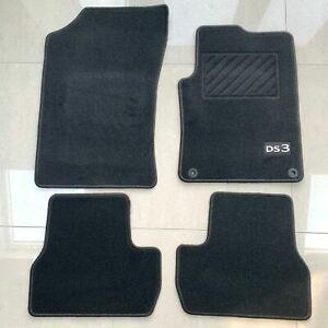 Citroen DS3 Floor Mats Set Interior Carpet Tailored Fit Genuine 1613954380