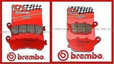 07HO57SA + 07HO36SP Pastiglie Freno Brembo Honda Integra 700  Ant + Post