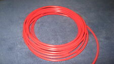 "1/4"" Pneumatic Polyethylene Tubing for Push to Connect Fittings RED PE0417-R"