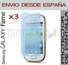 3x PROTECTOR de PANTALLA para SAMSUNG GALAXY FAME S6810 en ESPAÑA