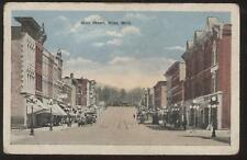 Postcard Niles MI Main Street Storefronts view 1910's