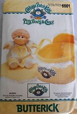 Vintage Butterick Cabbage Patch Kids Bed Carrier, Pillow & Coverlet Pattern EUC
