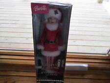 2004 Collectible BARBIE SANTA'S HELPER DOLL Ayudante De Santa in Box Christmas