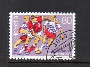 SWITZERLAND USED 1994 SG1284 WORLDCUP FOOTBALL CHAMPIONSHIP