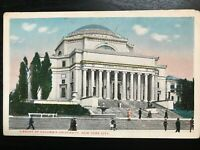 Vintage Postcard>1915-1930>Library>Columbia University>New York City