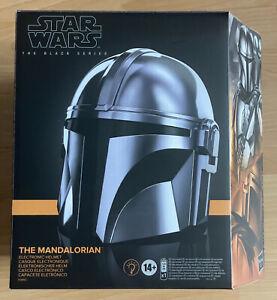 Star Wars The Mandalorian Black Series Elektronischer Helm Hasbro life size 1:1