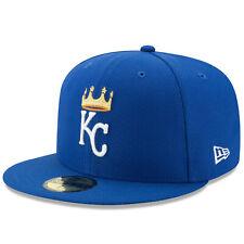 Kansas City Royals New Era Diamond Era 59FIFTY Fitted Hat - Blue