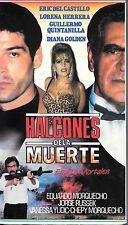 HALCONES DE LA MUERTE ESPIAS MORTALES (VHS) Mexi Crime Sleaze! RARE!