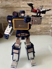 Transformers: MP KO Soundwave + Laserbeak Action Figure Toy - THF