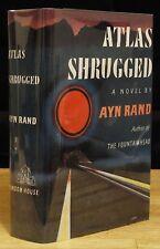 ATLAS SHRUGGED (1957) AYN RAND, SHARP 1ST EDITION, THIRD PRINTING, NEAR FINE