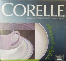 Corelle  Moonglow Dinnerware Set-New in Box (Service for 4)