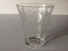 "Elegant Glass Fostoria Navarre 5"" #4128 Flared Vase"