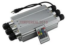 RGB Dimmable Fiber Optic Led Illuminator Light Generator With 6pcs Coupling Head