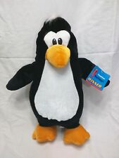 Big Penguin Stuffed Plush Doll Another 6 Six Flags Winner 16 inches New w/ Tag