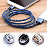 30cm Short Protable Braided USB-C USB 3.1 Type C Data Sync Charger Cable Lot