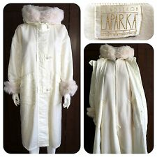 LINDA LUNDSTROM made in Canada LAPARKA ivory coat - M