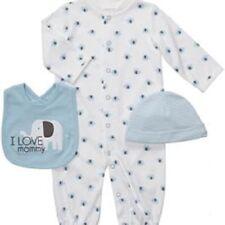 Carters 9M Baby Boy 3Piece Layette Long Sleeve Romper Bodysuit Jumpsuit Elephant