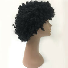 Vintage Afro Wig Fancy Dress Curly Funky Disco Clown Men Ladies Costume Hair NP2