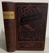 Antique 1829 Antiquary