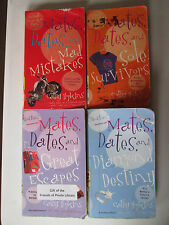 CATHY HOPKINS LOT OF 4 PAPERBACKS MATES DATES and Mad Mistakes Sole Survivors YA
