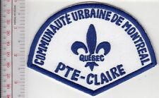 Montreal Police Department Communaute Urbaine Secteur Pointe-Claire (non Active)