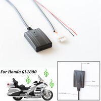For Honda Goldwing GL1800 3-pin AUX IN Bluetooth Music Aux Cable Adapter w/ MIC