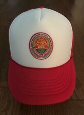 Vintage Red Hook Brewery Snapback Trucker Hat Cap