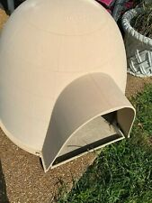 Dog house extra large Dogloo brand cream color*Local Pick Up Only*