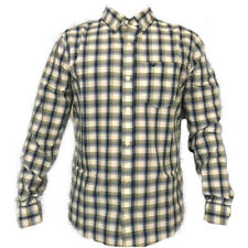 NWT Hollister by Abercrombie & Fitch Men's Shirt Green Plaid Sz M