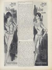 1960 Dalton women's fashion PRINT AD Shelly and Ettie Cashmere styles