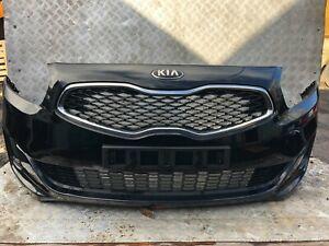 KIA CARENS 2013-2017 MK3 COMPLETE FRONT BUMPER BLACK