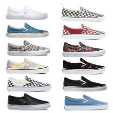 Vans Classic Slip On Zapatillas Mujer Mocasines Zapatos de Deporte Skate
