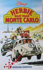 HERBIE - HERBIE GAAT NAAR MONTE CARLO - WALT DISNEY -  VHS