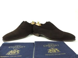 New Church's Cheaney Mens Shoes Imperial Suede Oxfords UK 11.5 US 12.5 EU 45.5 F