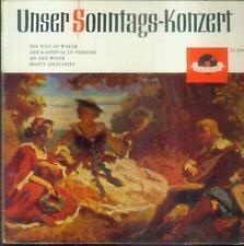 """7"""" Franz Willy Neugebauer/Die Post Im Walde (1964/10) Unser Sonntags Konzert"""