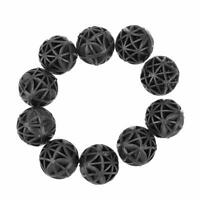 10pcs Black Fish Tank Pond Filter Bio-balls Sponge Media Aquariums Accessories