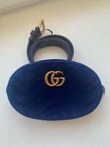 Gucci belt bag velvet