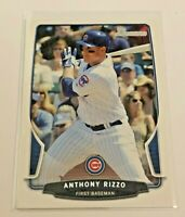2013 Bowman Baseball Base Card - Anthony Rizzo - Chicago Cubs
