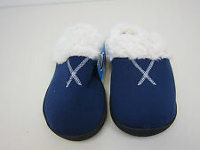 Isotoner Memory Foam Slippers - Womens 8.5-9 - Blue - NWT