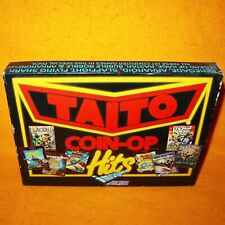 VINTAGE 1988 COMMODORE 64 C64 128 TAITO'S COIN-OP HITS CASSETTE TAPE GAME BOXED