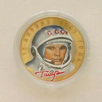 Russia 2 roubles 2001-40th Anniversary of Space flight of Gagarin SPMD RU164