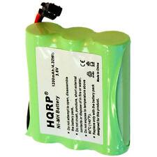 HQRP Batería para RadioShack CS00025, 11711991, 23-193, 23-270, 23-895 reemplazo
