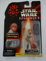 1998 Star Wars Episode I  Anakin Skywalker Tatooine Commtech Chip Action Figure