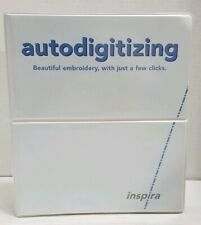 Autodigitizing Inspira Embroidery Designs 4.0 Sealed User's Guide Manual + Cd